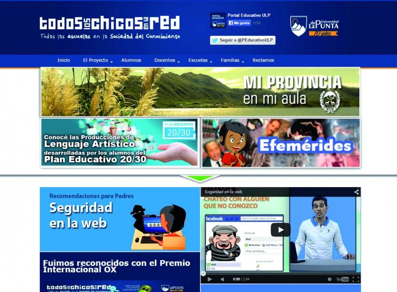 La ULP presentó la nueva versión del Portal Educativo Provincial