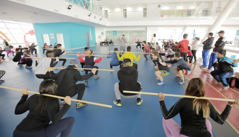 Se realizó el segundo módulo de capacitación en levantamiento olímpico
