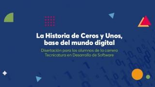 """La ULP brindará la charla """"La historia de ceros y unos, base del mundo digital"""""""