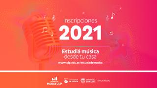 Escuela de Música: más de 1.100 inscriptos en la primer semana