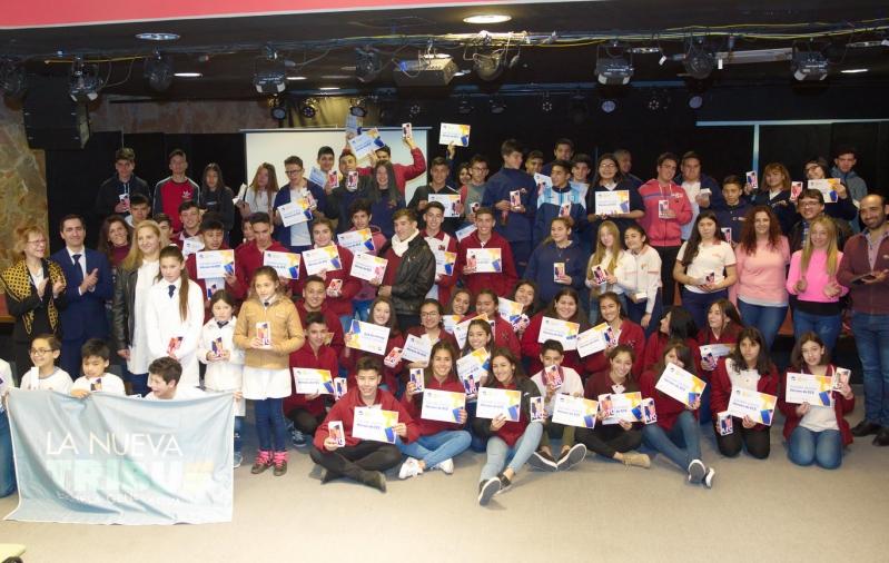 Héroes en el aula: premiaron a los alumnos con mejor desempeño en las Evaluaciones de Calidad Educativa