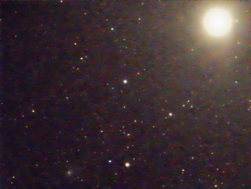El Telescopio Remoto captó el paso del cometa Siding Spring por Marte