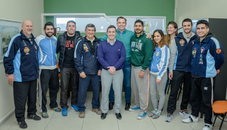 La ULP comenzó a trabajar con las federaciones  deportivas en la formación de talentos puntanos