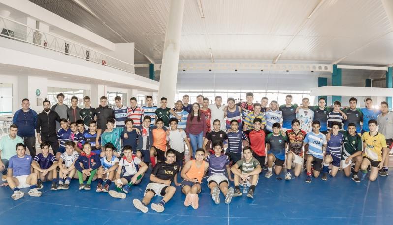 Jiu Jitsu, lucha y rugby reunieron a más de 250 deportistas en el Campus Abierto de la ULP
