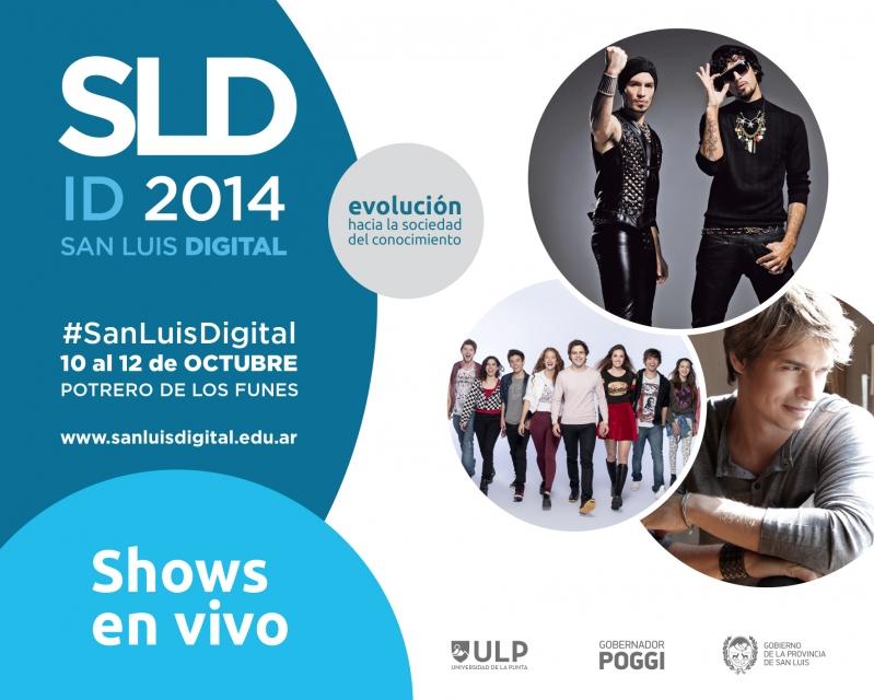 Carlos Baute, Illya Kuryaki y Aliados le pondrán música a San Luis Digital