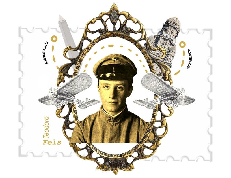 Hace 50 años fallecía el villamercedino Teodoro Fels, el piloto más joven del mundo en obtener su licencia de piloto aviador internacional