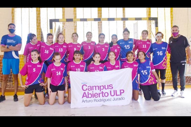 Handball femenino: los equipos del Campus fueron subcampeones