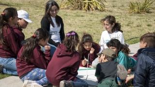 Alumnos puntanos aprendieron a medir el tamaño de la Tierra como Eratóstenes
