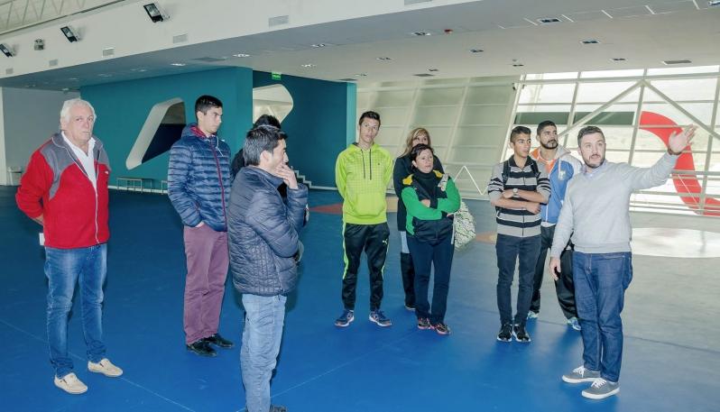 Representantes de clubes de La Punta visitaron el Campus Abierto ULP