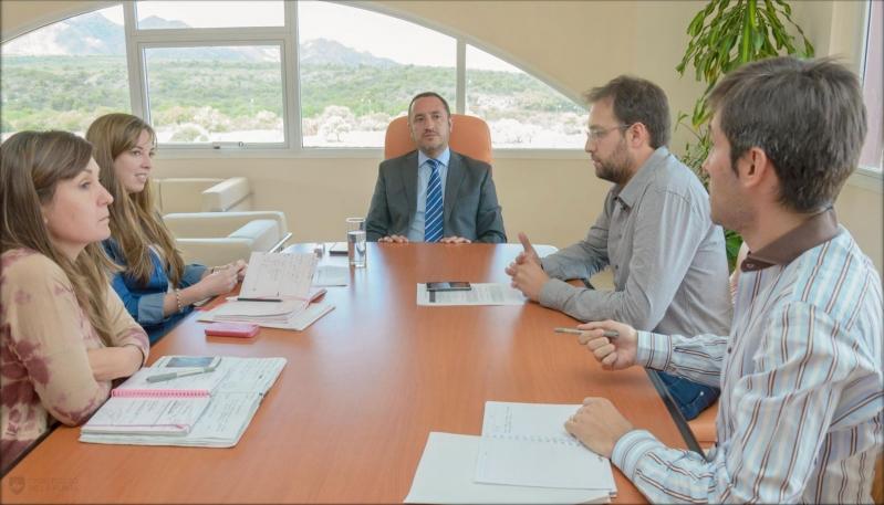 Marcelo Sosa coordinó tareas dentro del campus de la ULP