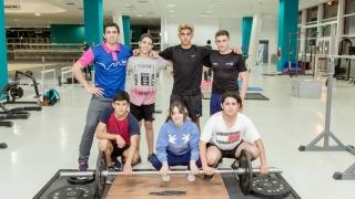 Seis deportistas de la escuela de Levantamiento Olímpico del Campus clasificaron a los Juegos Nacionales Evita
