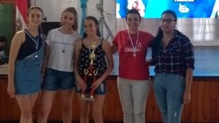 Por primera vez un equipo femenino representó a San Luis