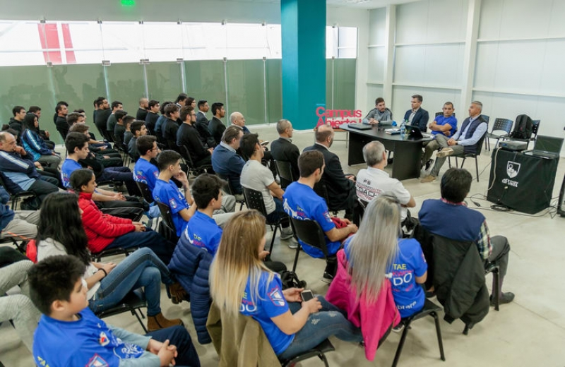 """""""El Campus Abierto ULP es una herramienta fundamental para el crecimiento del deporte"""""""