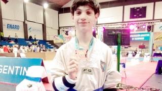 Mirco Mallimacci participa de un Campus Internacional de Taekwondo