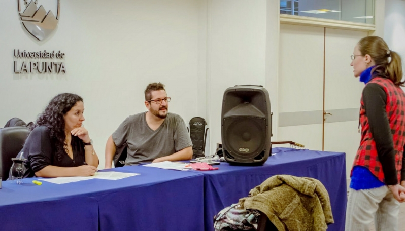 El codirector del coro de la ULP participó de un Festival de Canto en Colombia