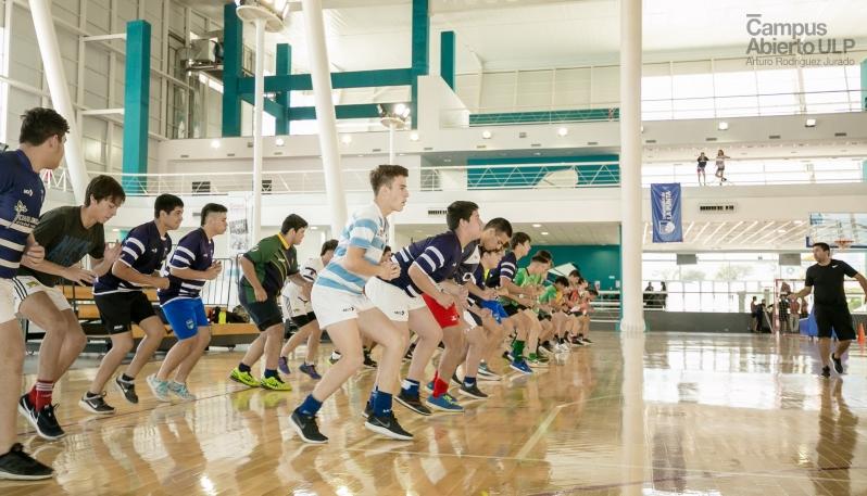 El rugby tuvo su día de pruebas en el Campus Abierto ULP