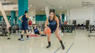 Agustina Florez, la puntana que compartió la experiencia con la Selección Argentina de Básquet Femenino