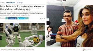 Repercusión nacional por el nuevo logro sanluiseño en el Mundial de Robótica
