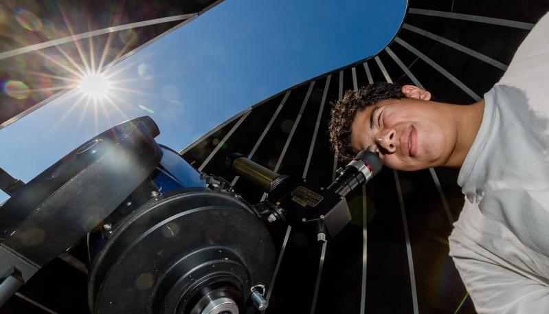 Alumnos de la Escuela Rosenda Quiroga disfrutaron de una jornada de ciencia y astronomía