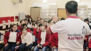 """Los alumnos de la Escuela Centro Educativo N°3 """"Eva Perón"""" se interiorizaron en Ajedrez Digital"""