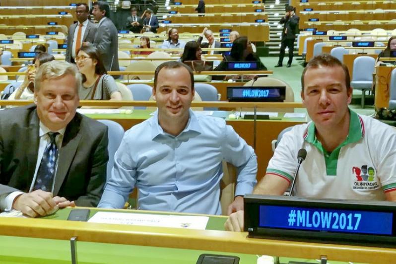 San Luis participó de un foro mundial de la Juventud en Estados Unidos