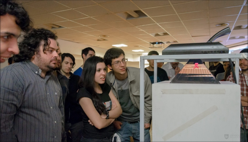 Los equipos desplegaron su ingenio y creatividad en el campus de la ULP