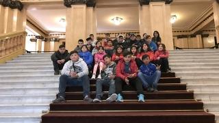 Alumnos puntanos conocieron el Teatro Colón y lugares emblemáticos de Buenos Aires