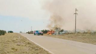 Incendios afectaron el trazado de fibra óptica