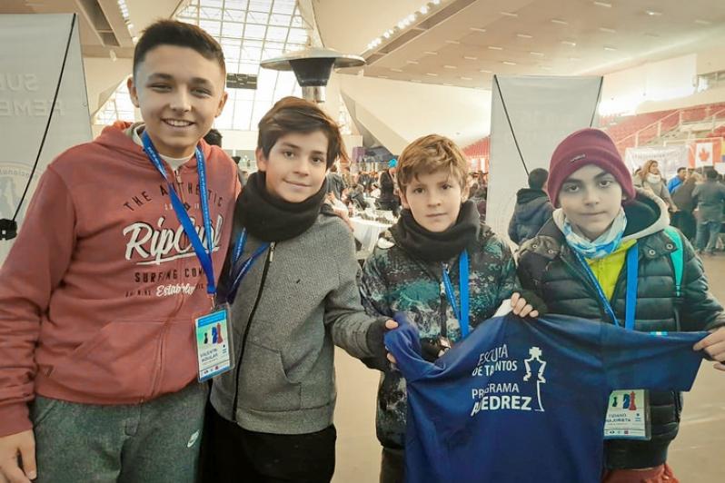 Cuatro puntanos en el Panamericano de la Juventud