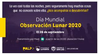 EL PALP se une al Día Mundial de la Observación Lunar