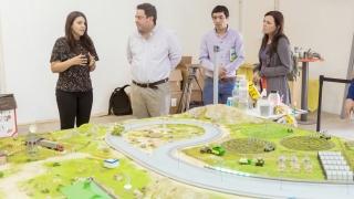 La Maqueta Programable San Luis 4.0 capta la curiosidad de los visitantes