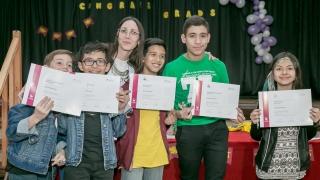 El Instituto de Idiomas diplomó a 200 alumnos de Villa Mercedes