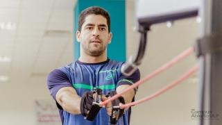 Maxi Sánchez, número 5 del pádel mundial, se prepara en el Campus Abierto ULP