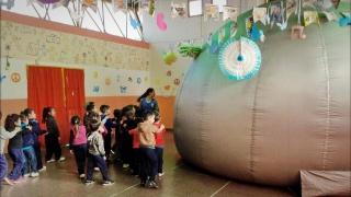 Los chicos de San Luis se acercan a la ciencia con el Planetario de la ULP