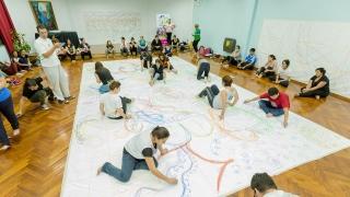 Docentes de San Luis se capacitaron en lenguajes de la danza y las artes visuales