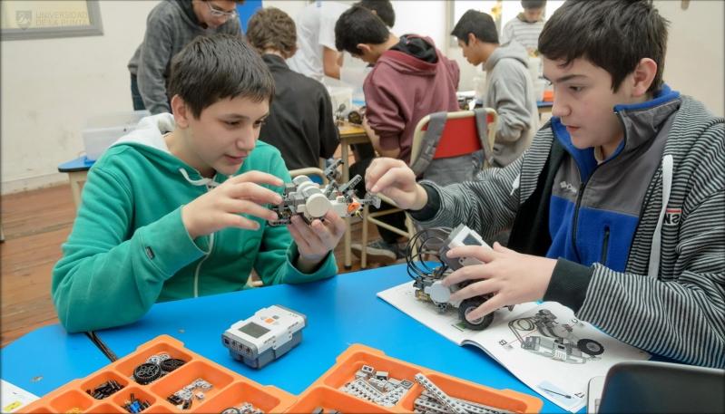 Los talleres de robótica reabrieron sus puertas