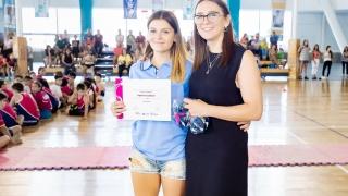 La judoca Agustina Lahiton concentra con la Selección