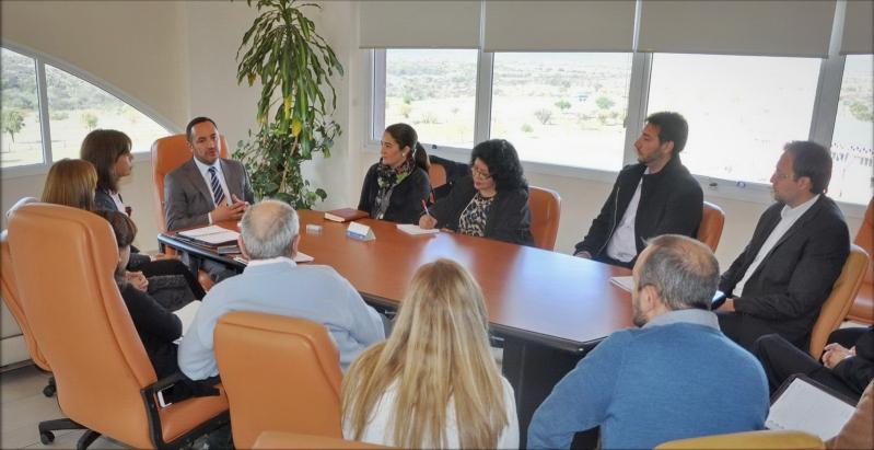 El ministro Sosa encabezó su primera reunión de trabajo al frente de la ULP