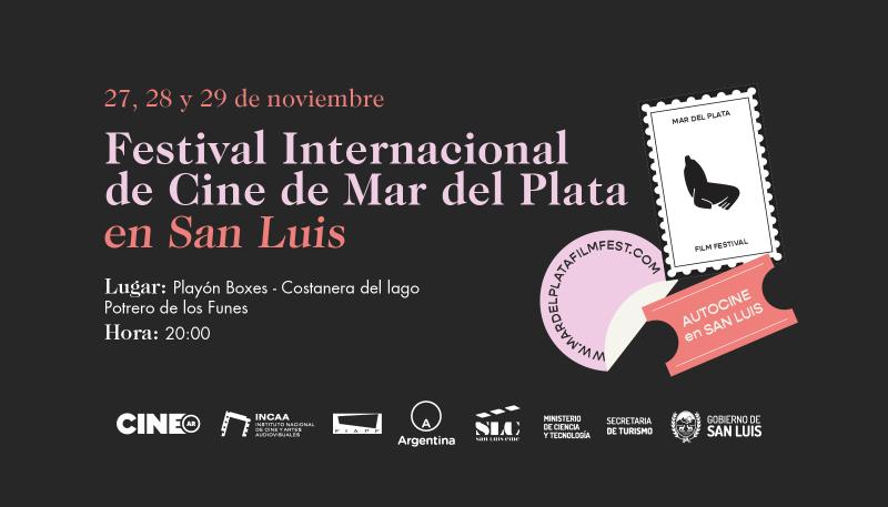 El Festival de Cine de Mar del Plata llega a San Luis