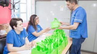 El Gobierno de San Luis entregó tabletas a profesionales del Hospital Cerro de la Cruz