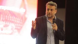 Leandro Cahn brindó una charla a los jóvenes de San Luis