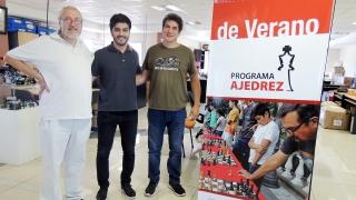 Marcelo Panelo, el ajedrecista puntano que triunfa en Barcelona visitó la ULP
