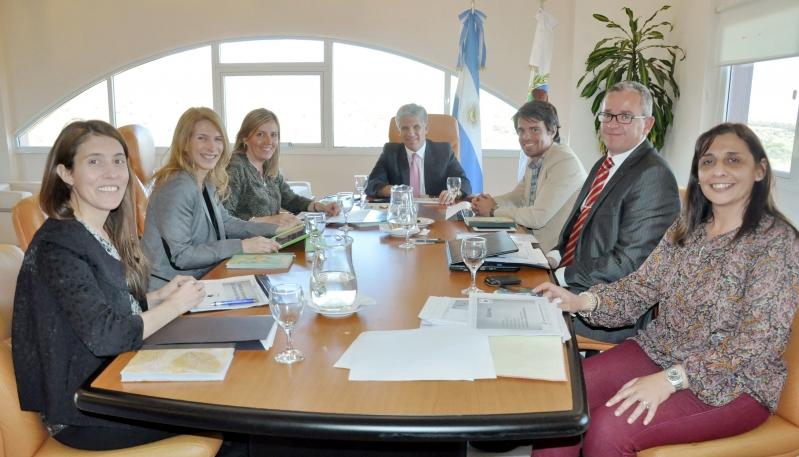 Amplia jornada de trabajo del Gobernador en la ULP