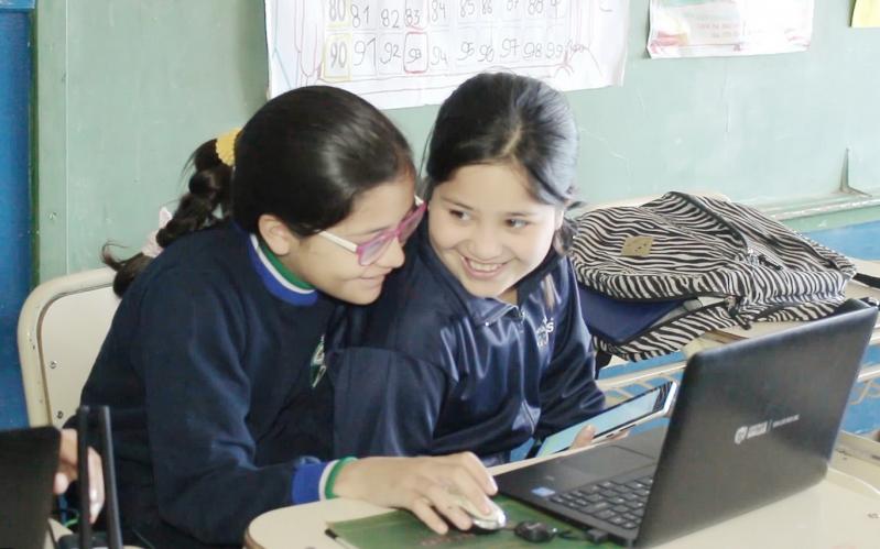 """La escuela """"Rosenda Quiroga"""" se sumó a la """"Maratón de Lectura Virtual"""" de la ULP"""