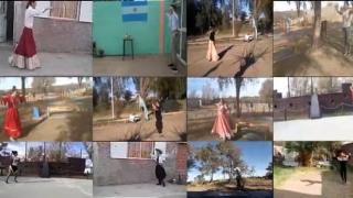 Los alumnos conmemoraron el 25 de mayo con una chacarera virtual