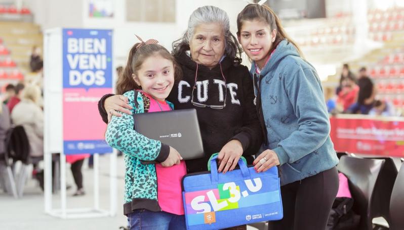 Más de 4.400 alumnos mercedinos recibieron su dispositivo