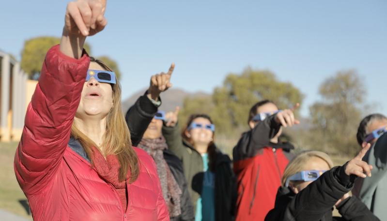El PALP espera el eclipse total solar con actividades para todo público