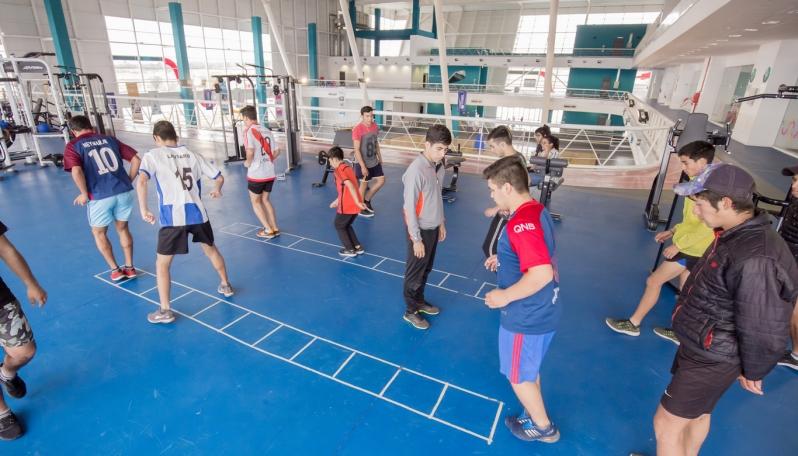 Deportistas de Renca y San Pablo vivieron una jornada a pleno deporte en el Campus Abierto de la ULP