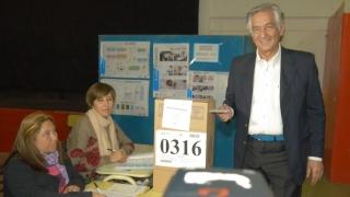 Así votó el gobernador electo de la Puntanidad