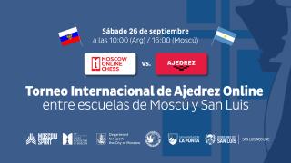 Karpov apadrinará el evento ajedrecístico entre escolares de San Luis y Moscú